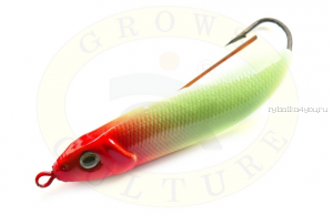 Блесна незацепляйка Grows Culture Minnow Spoon 6019 60мм / 10 гр / заглубление: 0,1 - 0,5м/ цвет: 009