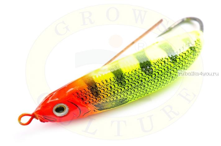 Купить Блесна незацепляйка Grows Culture Minnow Spoon 6019 60мм / 10 гр заглубление: 0,1 - 0,5м/ цвет: 015