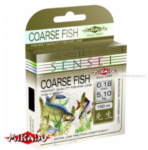Леска мононить Mikado Sensei Coarse Fish 150 м