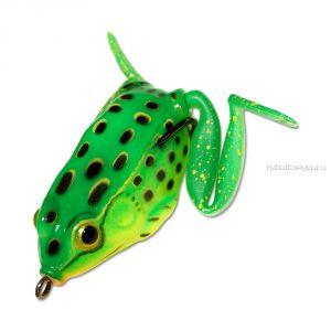 Незацепляйка Kosadaka мягкая оснащ. плав. Лягушка с лапами LF15 55мм / 16гр / цвет: С21