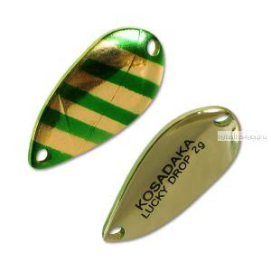 Блесна Kosadaka Trout Police Lucky Drop 2гр / 23мм / цвет: H49